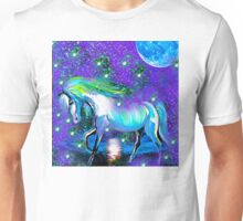 HORSE:  DANCING IN STARDUST AND MOONLIGHT Unisex T-Shirt