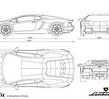 Lamborghini Aventador LP700-4 - BluePrint by SamSaab