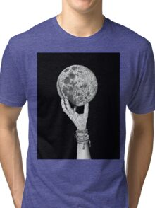 Moon in Her Hand Tri-blend T-Shirt