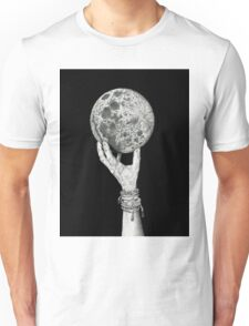 Moon in Her Hand Unisex T-Shirt