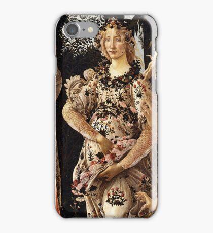 Botticelli -  La Primavera (Spring) (1481 - 1482)  iPhone Case/Skin
