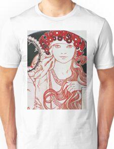 Alphonse Mucha - Mucha Exhibition Unisex T-Shirt