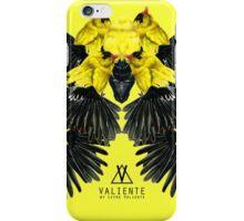 Birds in yellow iPhone Case/Skin