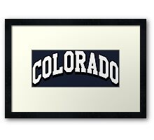 Colorado Classic CO Framed Print