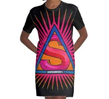 supermystic 2 Graphic T-Shirt Dress