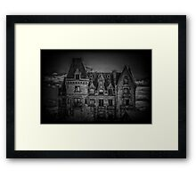 Adams Family Mansion Framed Print