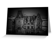 Adams Family Mansion Greeting Card