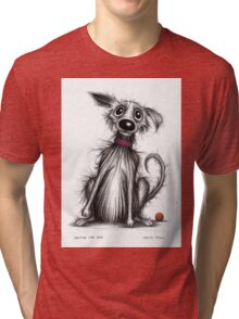 Hector the dog Tri-blend T-Shirt