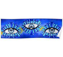 Globellinossa V1 - triple eyes Poster