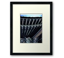 Temple at night in Seoul Framed Print