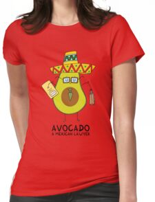 Avocado - A mexican lawyer Womens Fitted T-Shirt