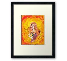 princess zelda Framed Print
