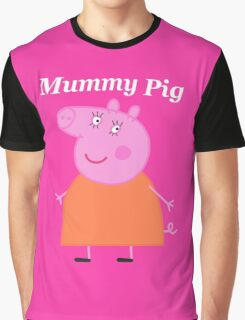 Mummy Pig Graphic T-Shirt