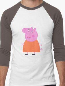 Mummy Pig Men's Baseball ¾ T-Shirt