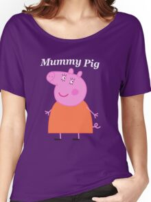 Mummy Pig Women's Relaxed Fit T-Shirt