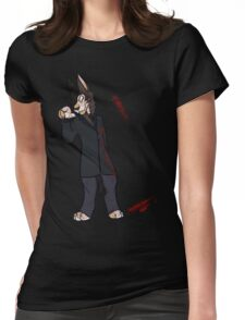 Catching the A train Womens Fitted T-Shirt