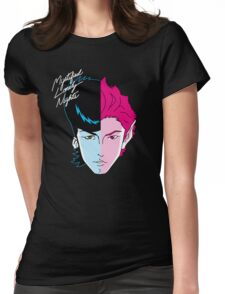 Mystified Lonely Nights Womens Fitted T-Shirt
