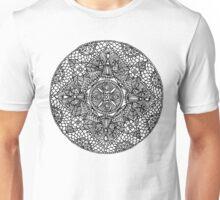 Flowers and Petals mandala - OneMandalaADay Unisex T-Shirt