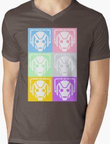 Doctor Who Cyberman Mens V-Neck T-Shirt