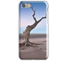 Stretching In The Afterglow iPhone Case/Skin