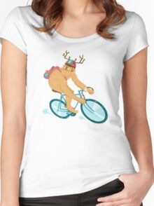 Ride it Like You Stole it Women's Fitted Scoop T-Shirt