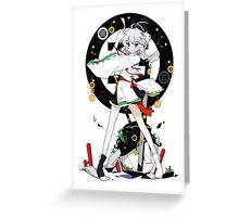 Touhou - Mononobe no Futo Greeting Card