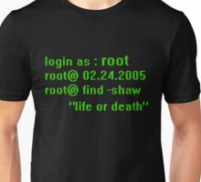 Root (person of interest) Unisex T-Shirt