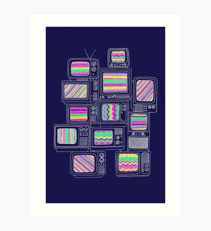 Inteference Art Print