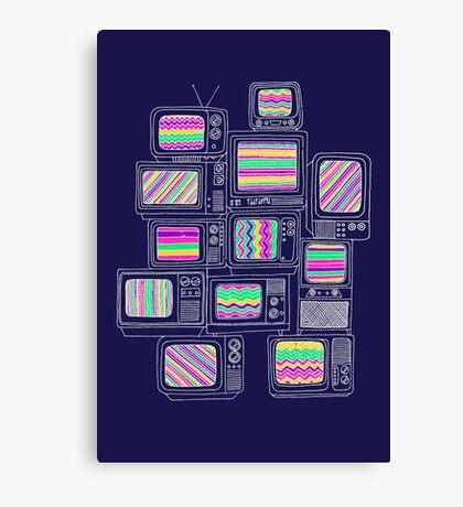 Inteference Canvas Print