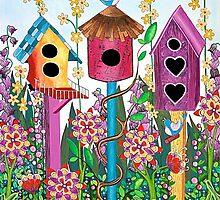 Summer Garden by Lisafrancesjudd