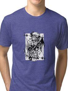 Touhou - Remilia & Flandre Scarlet Tri-blend T-Shirt