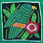 San Blas Mola embroidery 2012 by Maggie Hegarty