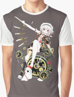 Touhou - Sakuya Izayoi Graphic T-Shirt
