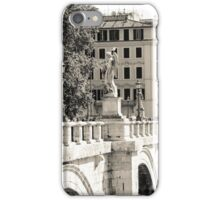 Rome - Ponte Sant'Angelo iPhone Case/Skin