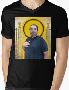 Hugh Mungus Mens V-Neck T-Shirt