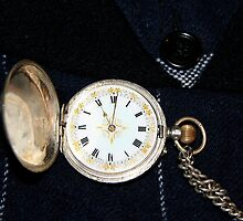 Pop's Victorian pocket watch by Maggie Hegarty