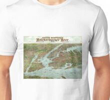 Panoramic view of New York City and vicinity - 1912 Unisex T-Shirt