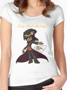 twisted fate Women's Fitted Scoop T-Shirt