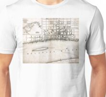 Plan of the city of Philadelphia - 1776  Unisex T-Shirt