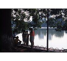 Lake Ho Hoen Kiem, Vietnam Photographic Print