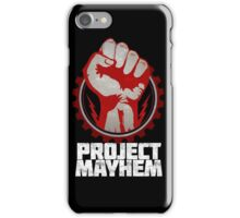 Fight Club Project Mayhem Design iPhone Case/Skin