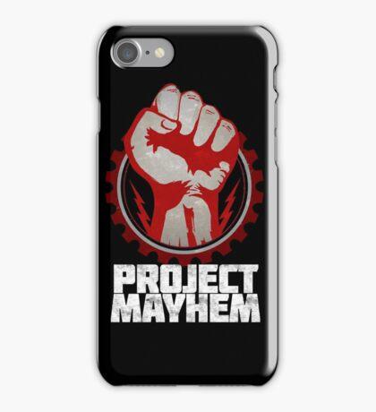 Fight Club Project Mayhem Design iPhone Case/Skin