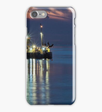 Suction dredger iPhone Case/Skin
