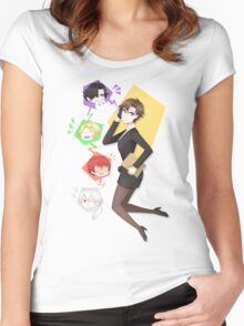Mystic Messenger Women's Fitted Scoop T-Shirt