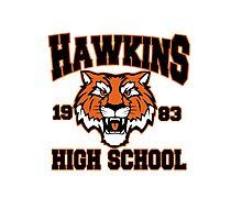 Hawkins high 1983 Photographic Print