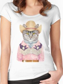 Country Cat Women's Fitted Scoop T-Shirt