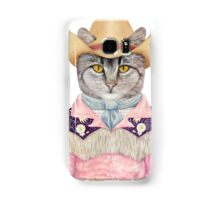 Country Cat Samsung Galaxy Case/Skin