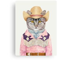 Country Cat Canvas Print