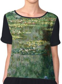 Claude Monet - Le Bassin des Nympheas (1904)  Chiffon Top