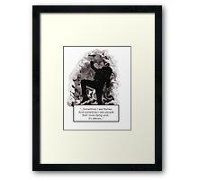 My Chemical Romance - Sleep Framed Print